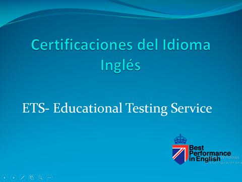 Certificaciones Del Idioma Ingles